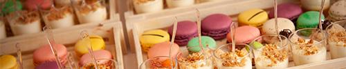 macarons et mignardises dessert de mariage