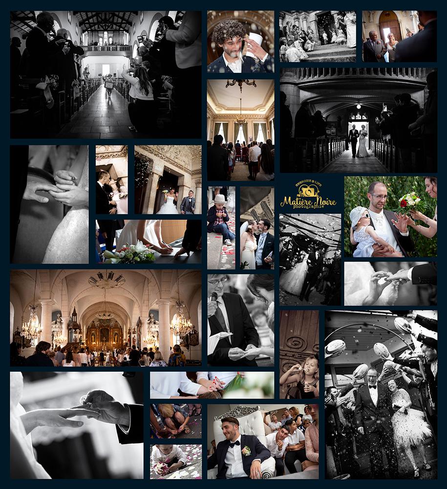 photos de mariages à la mairie et à l'église